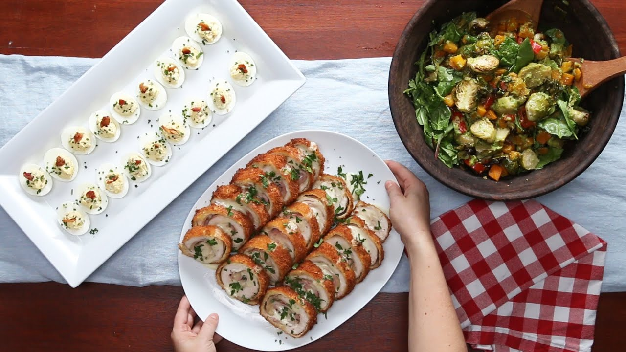 4 recipes for a tasty dinner party youtube