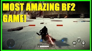 Star Wars Battlefront 2 - Absolutely AMAZING BF2 match!   How did we pull that off?!
