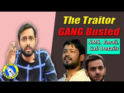 Police recovered Umar Khalid's  Deleted Message  to  Kanhaiya Kumar, Know what was written? | AKTK
