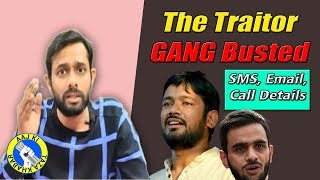 "Police recovered Umar Khalid's ""Deleted Message"" to  Kanhaiya Kumar, Know what was written? 