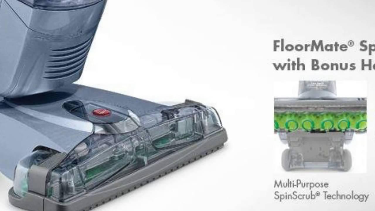 hoover floormate spinscrub upright vacuum with bonus hard floor