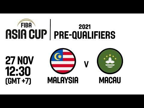 Malaysia v Macau - Full Game - FIBA Asia Cup 2021 Pre-Qualifiers  2019