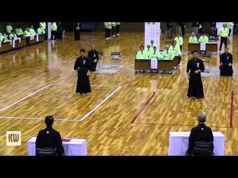 49th All-Japan Iaido Tournament -  6-dan Finals