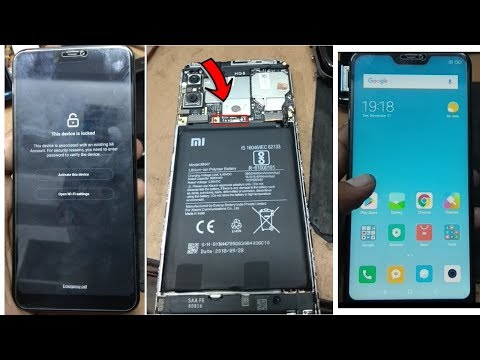 Xiaomi Redmi 6 Pro Mi Account Unlock - YouTube