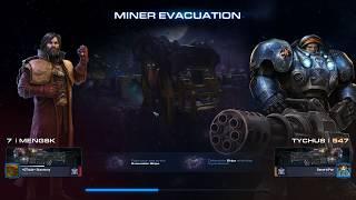 StarCtaft 2 Co-Op Miner Evacuation Mengsk Level 7 to 8
