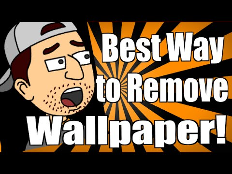 best way to remove wallpaper youtube