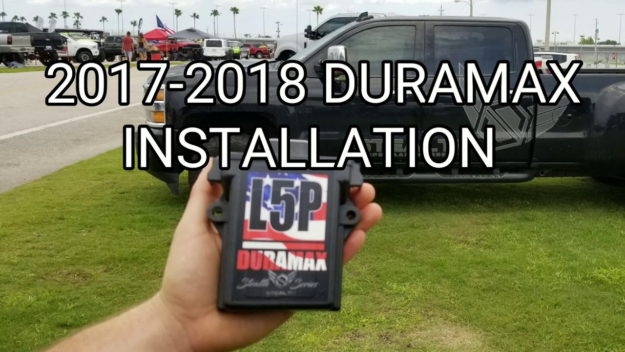 Installation Instructions for Chevy/GMC Duramax L5P 6 6L Stealth
