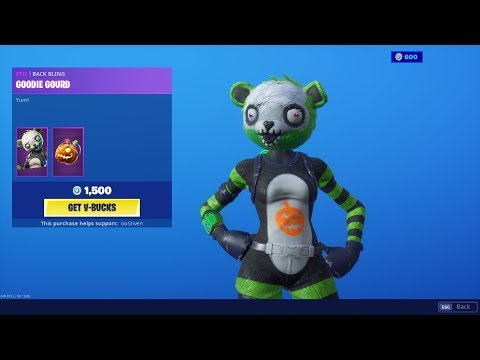 *NEW* SPOOKY TEAM LEADER IS BACK - FORTNITE ITEM SHOP UPDATE LIVE! (Fortnite Battle Royale)