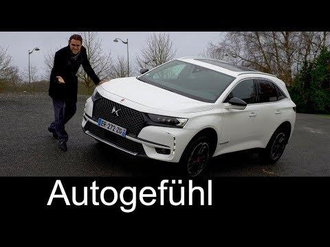 DS7 Crossback FULL REVIEW Performance Line + Plugin-Hybrid driving all-new SUV - Autogefühl - Dauer: 51 Minuten