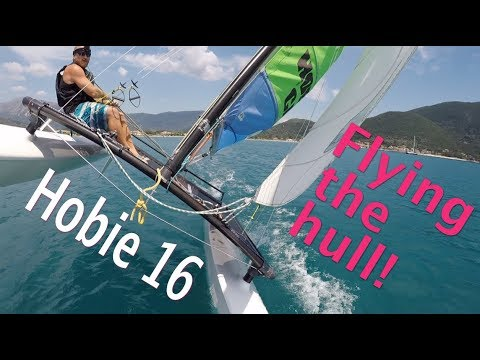 How to fly the hull, a Hobie 16 tutorial
