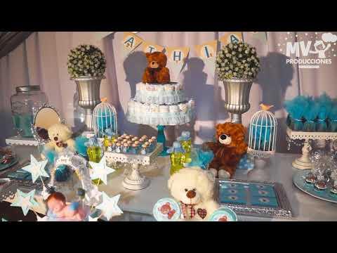 Ideas Baby Shower Nino Ositos.Baby Shower Y Decoracion Ositos King Teddy Bear Youtube