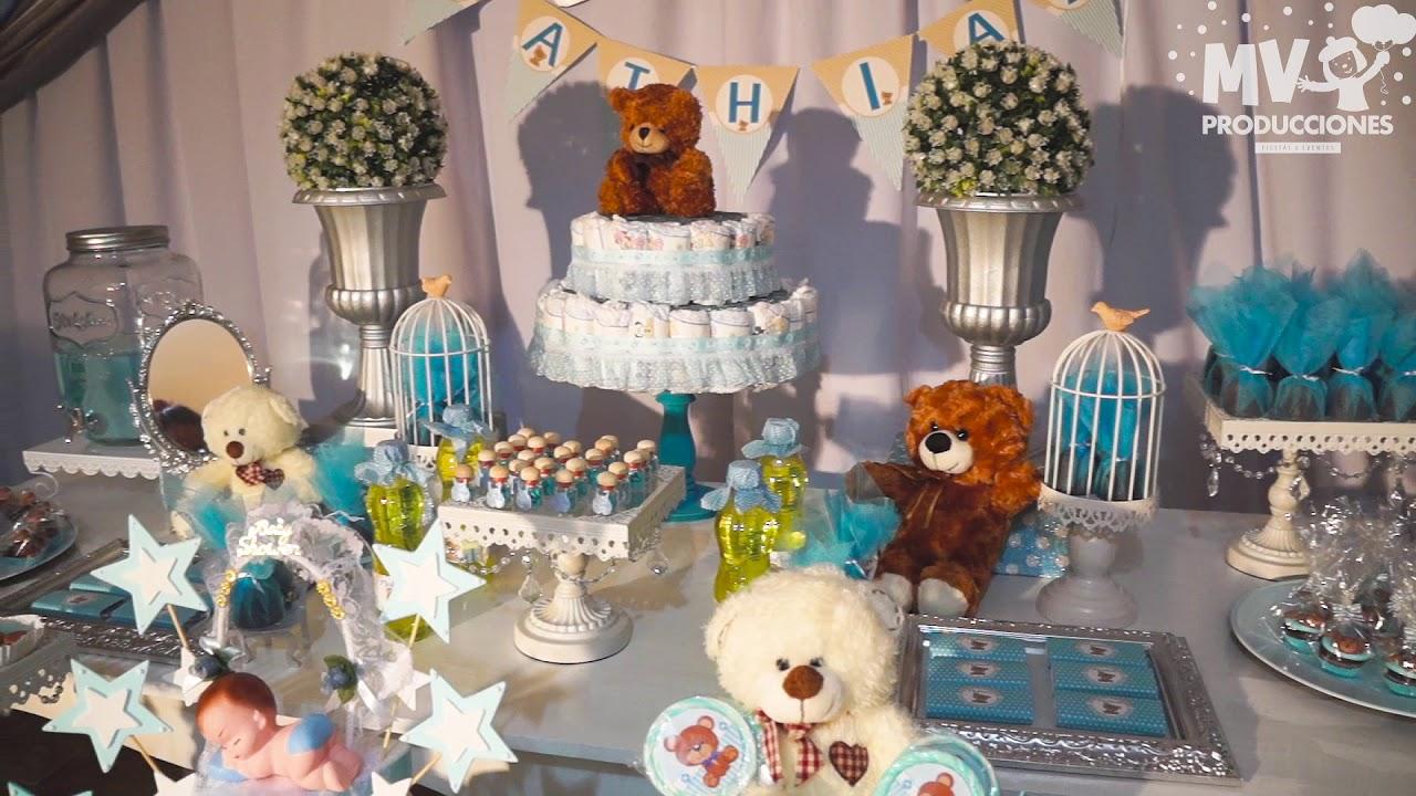Baby Shower Y Decoracion Ositos King Teddy Bear Youtube - Decoracion-baby-shower