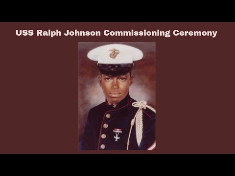 "Commissioning of the ""USS Ralph Johnson"",  Charleston S.C."
