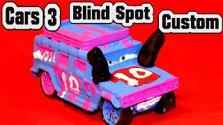 Pixar Cars 3 Custom Blind Spot Demolition Derby Crazy 8 Race Cars with Primer Lightning McQueen Cars