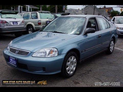 1999 Honda Civic Lx >> 1999 Honda Civic Lx Sedan