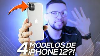 4 MODELOS de iPHONE 12?! VEM CONHECER!! (iPhone 12, 12 Plus, 12 Pro e 12 Pro Max)