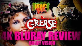Grease 4K Bluray Review I HDR10 I Dolby Vision