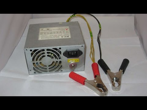 How To Make A 12 Volt 5 Amp Battery Charger - DIY Technology Tutorial - Guidecentral