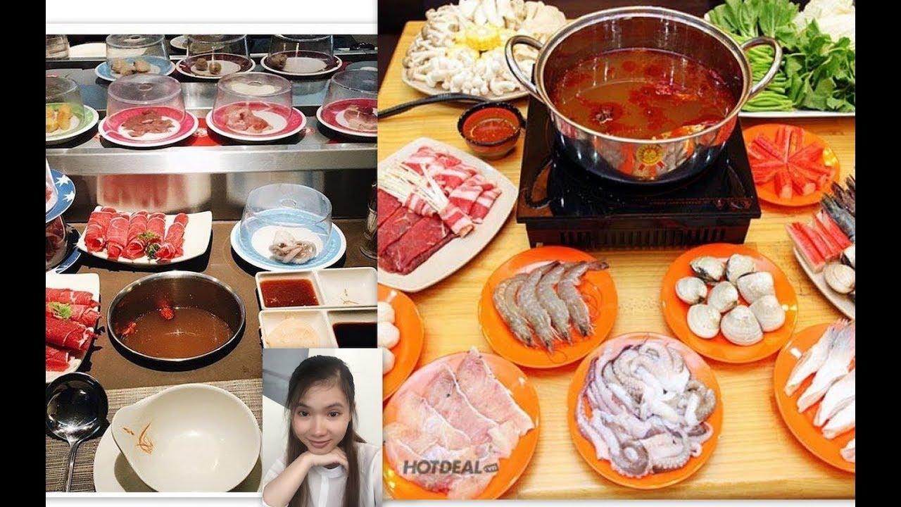 Hướng dẫn cách ăn lẩu băng chuyền Kichi Kichi- Street Food