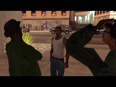 CJ confronts Smoke & Ryder
