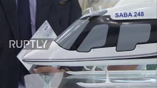 Russia: Iran showcases arms at MAKS for first time since UN sanctions lifted