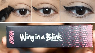 NYKAA Wing in a blink eyeliner review