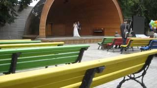 Свадьба в Бауманском саду.