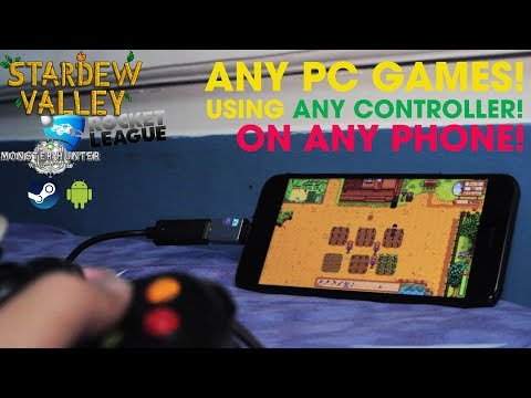 How to play STARDEW VALLEY & ANY PC GAMES on ANY PHONE with ANY CONTROLLER! | Steam Link