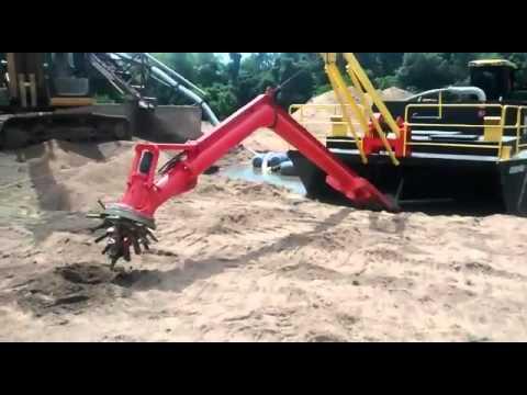 Draga Sul Dragas, extração de areia