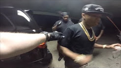 Plies Concert With Armed Private Security Back Stage Florida