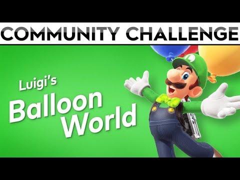 🎈 LUIGI'S BALLOON WORLD 🎈| Finding and Hiding YOUR Balloons!!