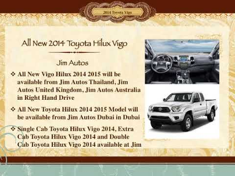 New Toyota Hilux 2014