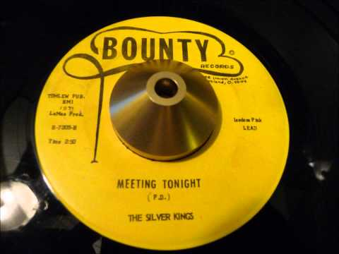the silver kings - 'meeting tonight' excellent ohio gospel soul 45 on bounty!