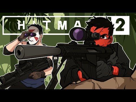 WORST. HITMEN. EVER. | Hitman 2: Sniper Assassin (w/ H2O Delirious)