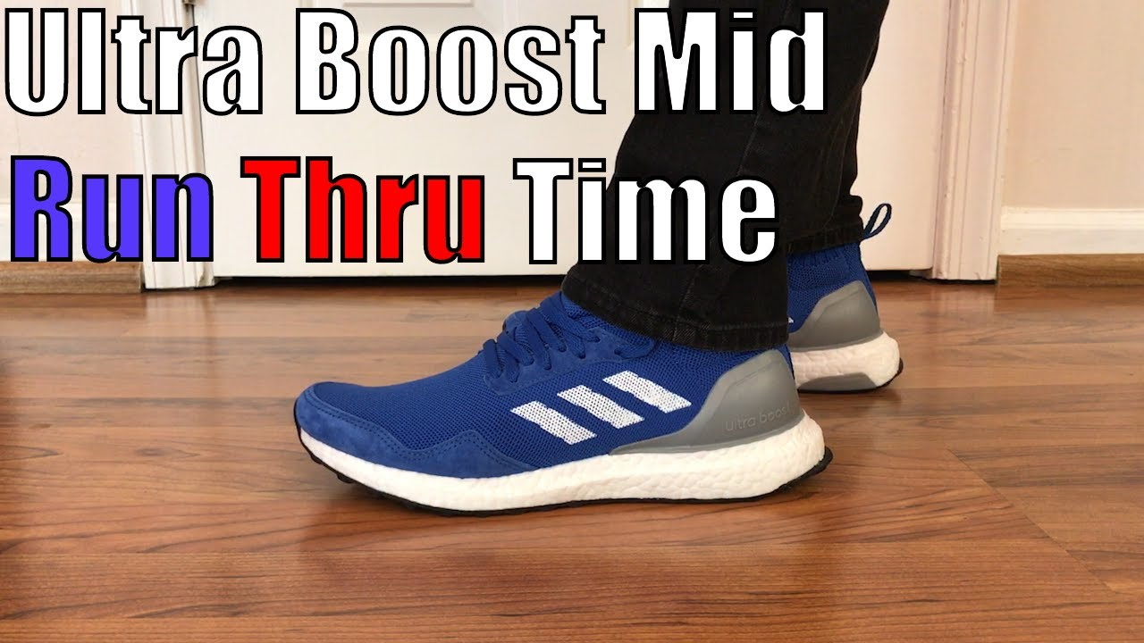 huge discount 0cad2 2619a Ultra Boost Mid Run Thru Time Review + On Feet