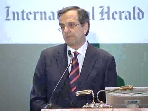 Prime Minister Antonis Samaras, Welcome address (Greek) at Athens Energy Forum 2013