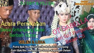 73.Desa Sritanjung Pernikahan Selen &Lidia tgl 07-04-2021.