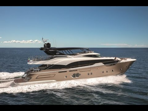 Monte Carlo Yachts 96 (2018-) - Test Video - By BoatTEST.com