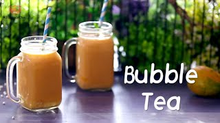 HEALTHY Mango Tapioca Bubble Tea | How To Make Bubble Tea By Chef Sadaf | #31DaysOfChai
