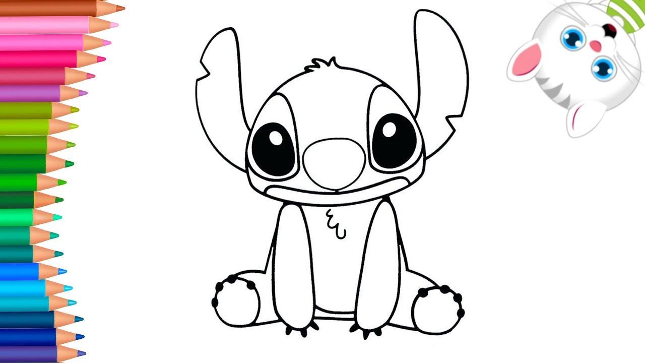 Lilo E Stitch Come Disegnare E Colorare Disegni Da Colorare Cose Da Colorare Youtube