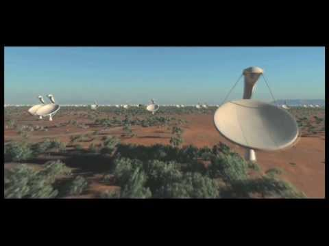 The SKA (Square-Kilometre Array) will be the world's largest radio telescope