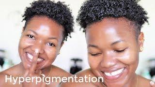 ❣️Morning Routine💖 HYPERPIGMENTATION & Anti-Aging Skin Care 💕TWA CURLY LOW POROSITY HAIR