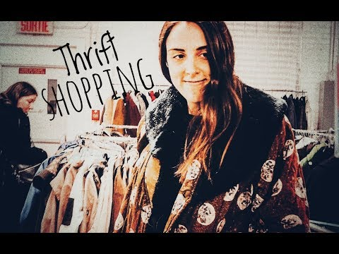 THRIFT SHOPPING in Montreal!!