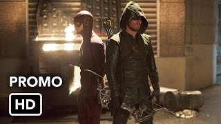 The Flash 1x08 Promo 'Flash vs. Arrow' (HD) Flash/Arrow Crossover Event