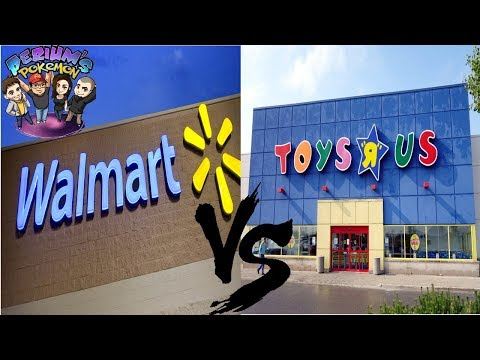Pokemon Card Opening Battle: Walmart VS Toys 'R Us!!