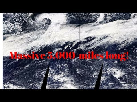 Download Youtube: 5,000 mile long Atmospheric River in the sky' to deliver heavy rain, feet of snow to Northwest