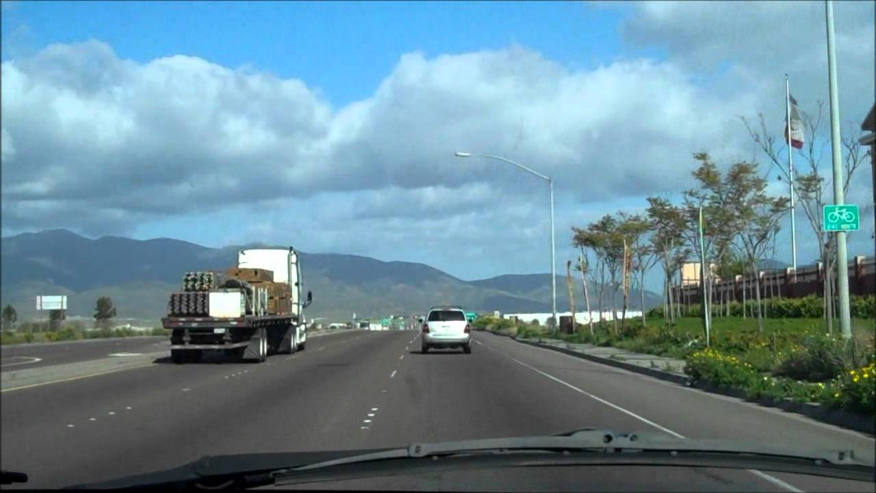 CA905 East Old Alignment to Otay Mesa Border Crossing  YouTube