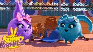 СОЛНЕЧНЫЕ БУННИКИ - СОЛНЕЧНЫЕ БЕЙСБОЛЬНЫЕ ИГРОКИ | Смешные мультфильмы для детей | WildBrain