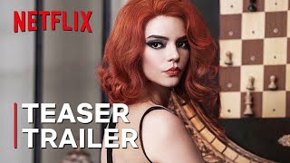 "The Queen's Gambit Season 2 (2022) Teaser Trailer Concept ""Checkmate"" Netflix Series"