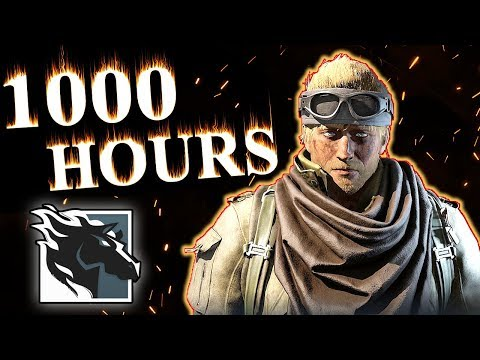 What 1000 HOURS of MAVERICK Experience Looks Like - Rainbow Six Siege